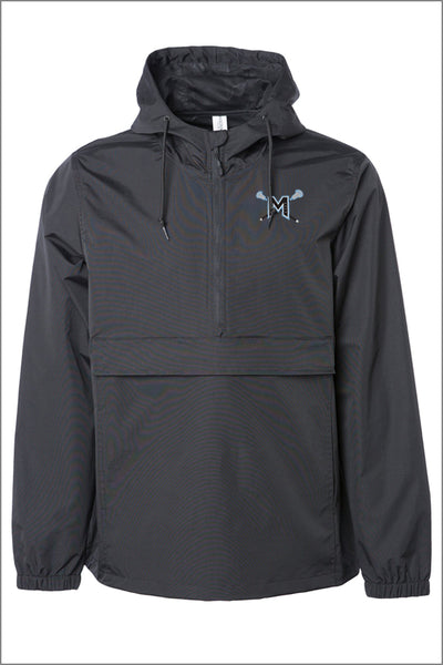 Mountainside Lacrosse Water Resistant Windbreaker Anorak Jacket (Adult Unisex)