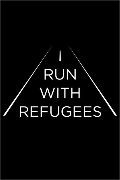 "World Relief ""I Run With Refugees"" Tee (Adult Womens)"