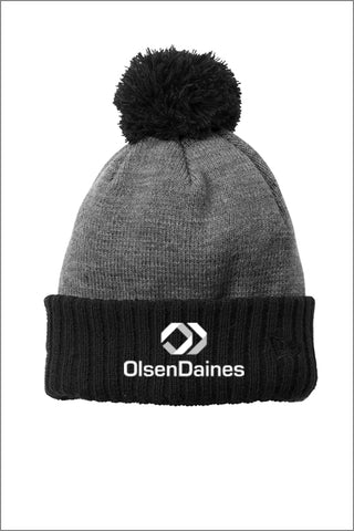 Olsen Daines New Era® Colorblock Beanie