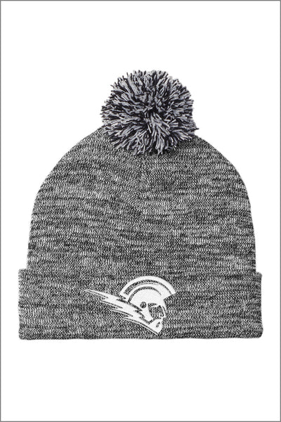 West Salem Staff Heather Pom Beanie