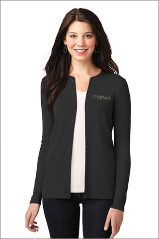 Loanstar Stretch Button-Front Cardigan (Womens)