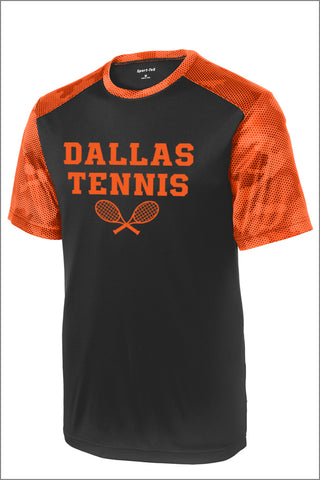 Dallas Tennis CamoHex Colorblock Tee (Adult Unisex)