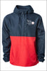 Deschutes Rapids Lightweight Windbreaker Pullover Jacket (Adult Unisex)