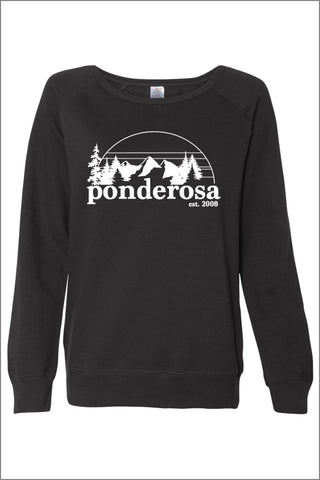 Ponderosa Fleece Lightweight Sweatshirt (Womens)