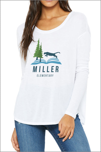 Miller Flowy Long-Sleeve T-Shirt (Womens)