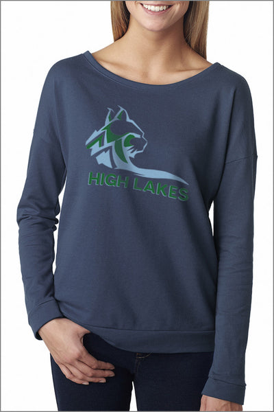High Lakes French Terry Long-Sleeve Scoop (Womens)