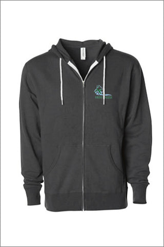 High Lakes Full Zip Hooded Sweatshirt (Adult Unisex)