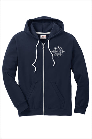 North Star Elementary Full-Zip Hooded Sweatshirt (Adult Unisex)