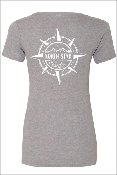 North Star Staff Relaxed V-Neck Tee (Womens)