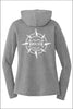 North Star Staff Tri Long Sleeve Hoodie (Womens)