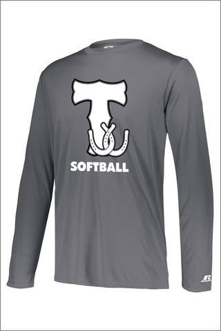 Thurston Softball DRI-POWER CORE PERFORMANCE LONG SLEEVE TEE (Adult Unisex)