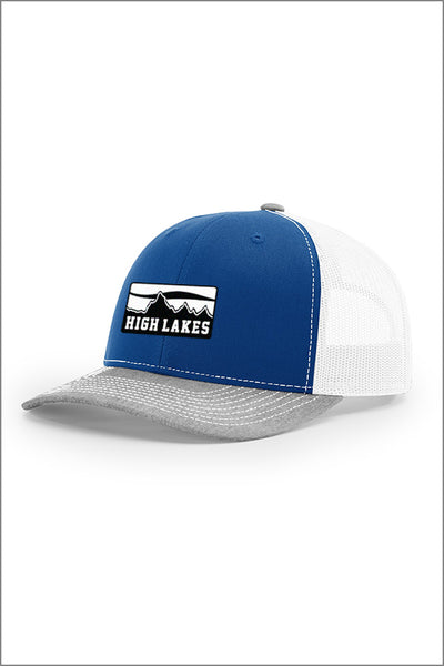 High Lakes Twill Mesh Snapback Hat