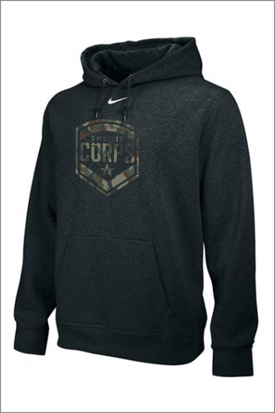 Fit Corps Nike FLEECE HOODY - Military Crest (Adult Unisex)