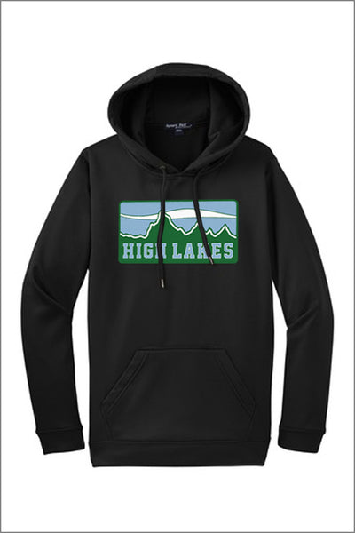 High Lakes Sport-Wick Hooded Pullover (Adult Unisex)