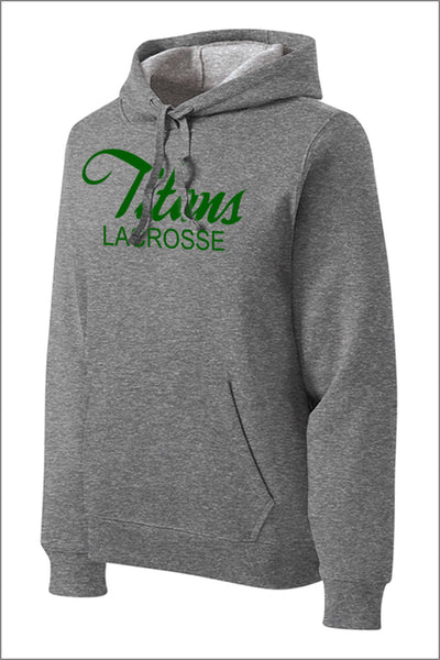 Titans Girls Lacrosse Pullover Hooded Sweatshirt (Adult Unisex)