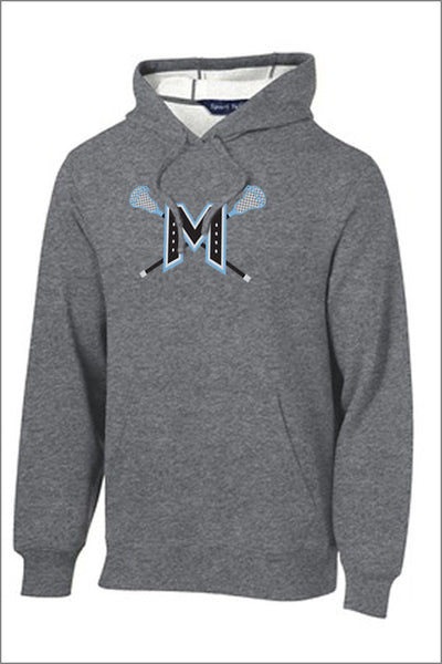 Mountainside Lacrosse Player Pullover Hooded Sweatshirt (Adult Unisex)