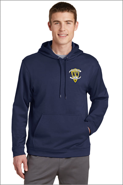 NWFC Sport Wick Performance Embroidered Hoodie (Adult Unisex)