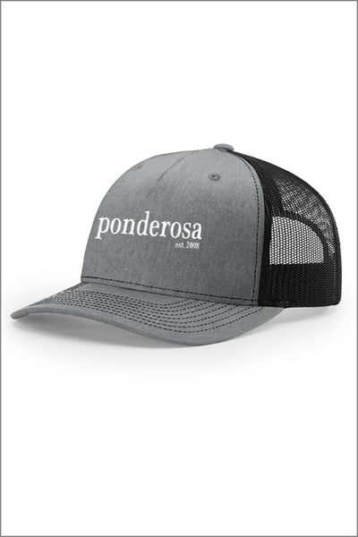 Ponderosa Five Panel Trucker Hat
