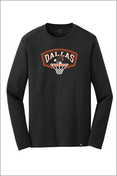 Dallas Basketball New Era Long Sleeve Crew Tee (Adult Unisex)
