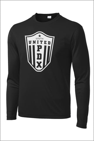 United PDX Performance Long Sleeve Tee (Adult Unisex)