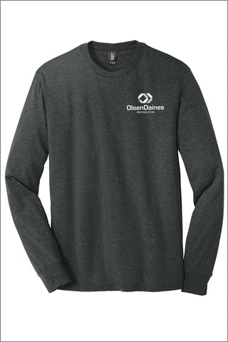 Olsen Daines Perfect Tri ® Long Sleeve Tee Shirt (Adult Unisex)
