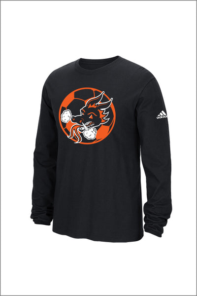 Dallas Soccer Adidas Long Sleeve Tee (Adult Unisex)