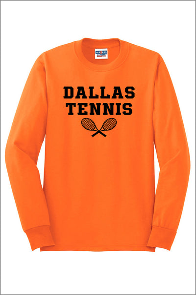 Dallas Tennis Active 50/50 Long Sleeve T-Shirt (Adult Unisex)
