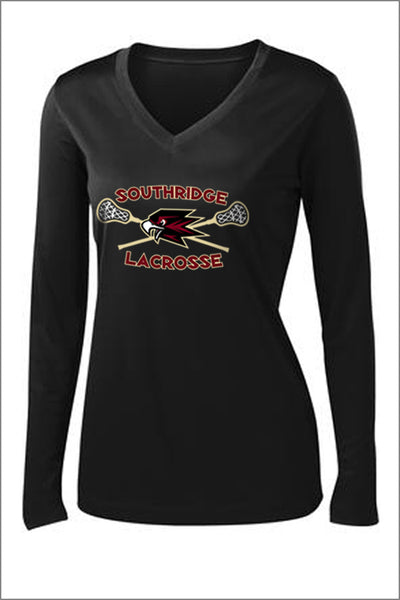 Southridge Lax PosiCharge Performance Long Sleeve Tee (Womens)