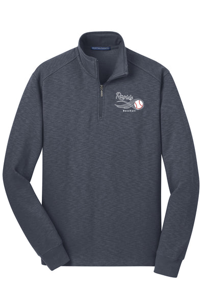 Deschutes Rapids Slub Fleece 1/4-Zip Pullover (Adult Unisex)