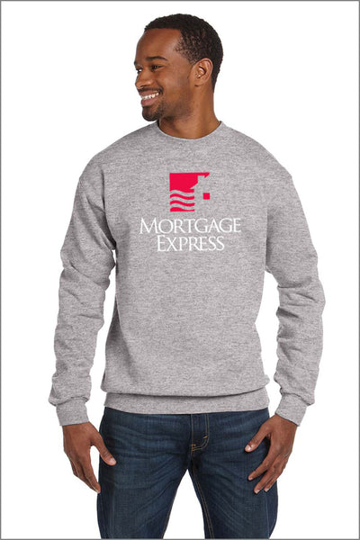 Mortgage Express EcoSmart Fleece Crew (Adult Unisex)