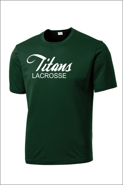 Titans Girls Lacrosse PosiCharge Competitor Tee (Adult Unisex)