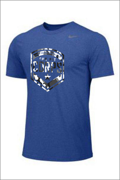 "Fit Corps ""Camo"" Nike Legend Short Sleeve Tee (Adult Unisex)"