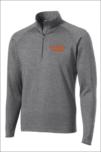 Dallas Tennis Sport-Wick Stretch 1/2-Zip Pullover (Adult Unisex)