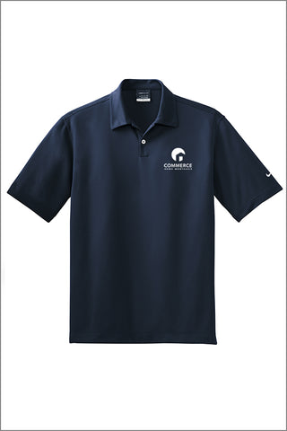 Capital Corps and Commerce Nike Dri-FIT Pebble Texture Polo (Mens)