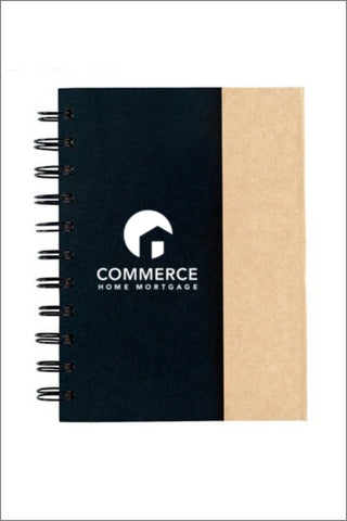 Capital Corps and Commerce SMALL SPIRAL NOTEBOOK WITH STICKY NOTES & FLAGS