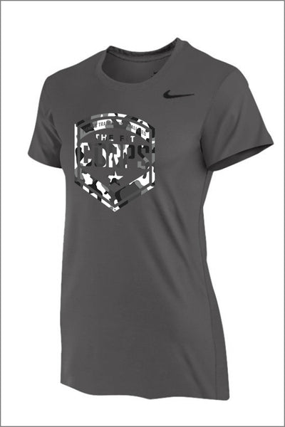 "Fit Corps ""Camo"" Nike Legend Short Sleeve Tee (Womens)"