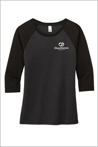 Olsen Daines Perfect Tri ® 3/4-Sleeve Raglan (Womens)