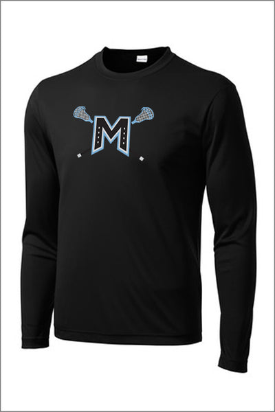 Mountainside Lacrosse PosiCharge Performance Long Sleeve Tee (Youth)
