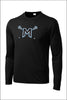Mountainside Lacrosse PosiCharge Performance Long Sleeve Tee (Adult Unisex)