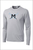 Mountainside Lax PosiCharge Performance Long Sleeve Tee (Youth)