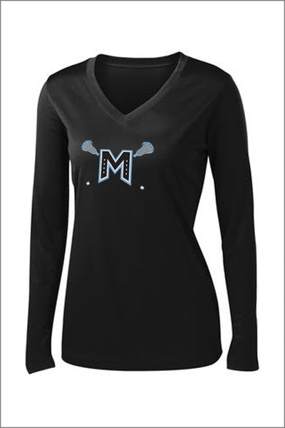 Mountainside Lax PosiCharge Performance Long Sleeve Tee (Womens)