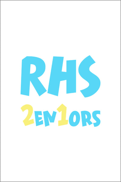 Reynolds High School Senior Hoodie | White