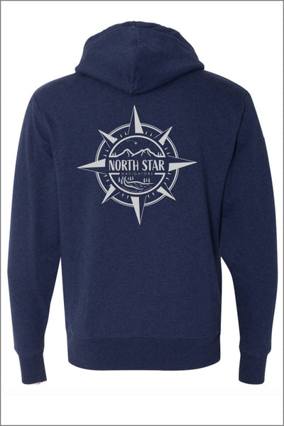 North Star Sherpa-Lined Hooded Sweatshirt (Adult Unisex)