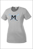 Mountainside Lacrosse PosiCharge Performance Tee (Womens)