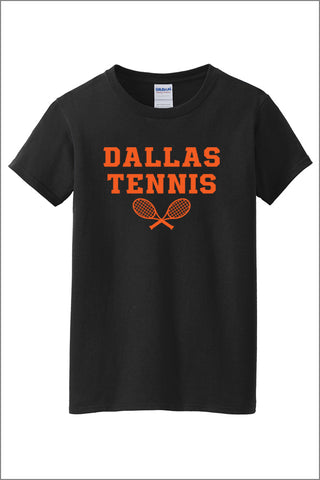 Dallas Tennis 100% Cotton T-Shirt (Womens)