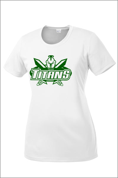 Titans Boys Lacrosse PosiCharge Competitor Tee (Youth)