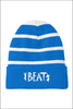Beat Striped Beanie