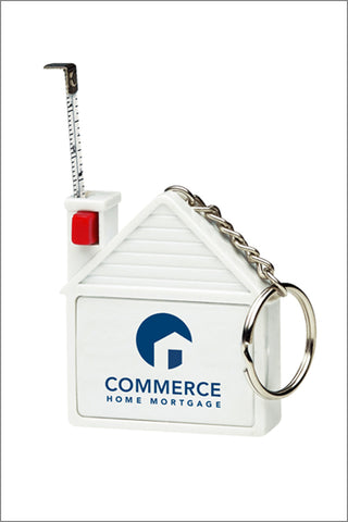 Capital Corps and Commerce TAPE MEASURE KEYCHAIN