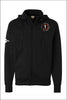 Sprague Sports Medicine Poly-Tech Full-Zip Hooded Sweatshirt (Adult Unisex)