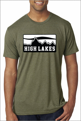 High Lakes Tri-Blend Tee (Adult Unisex)